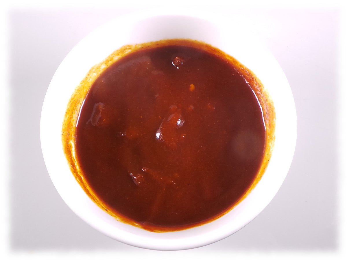 Schale mit Ruhrfeuer Currysauce