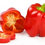 Bild rote Gemüsepaprika