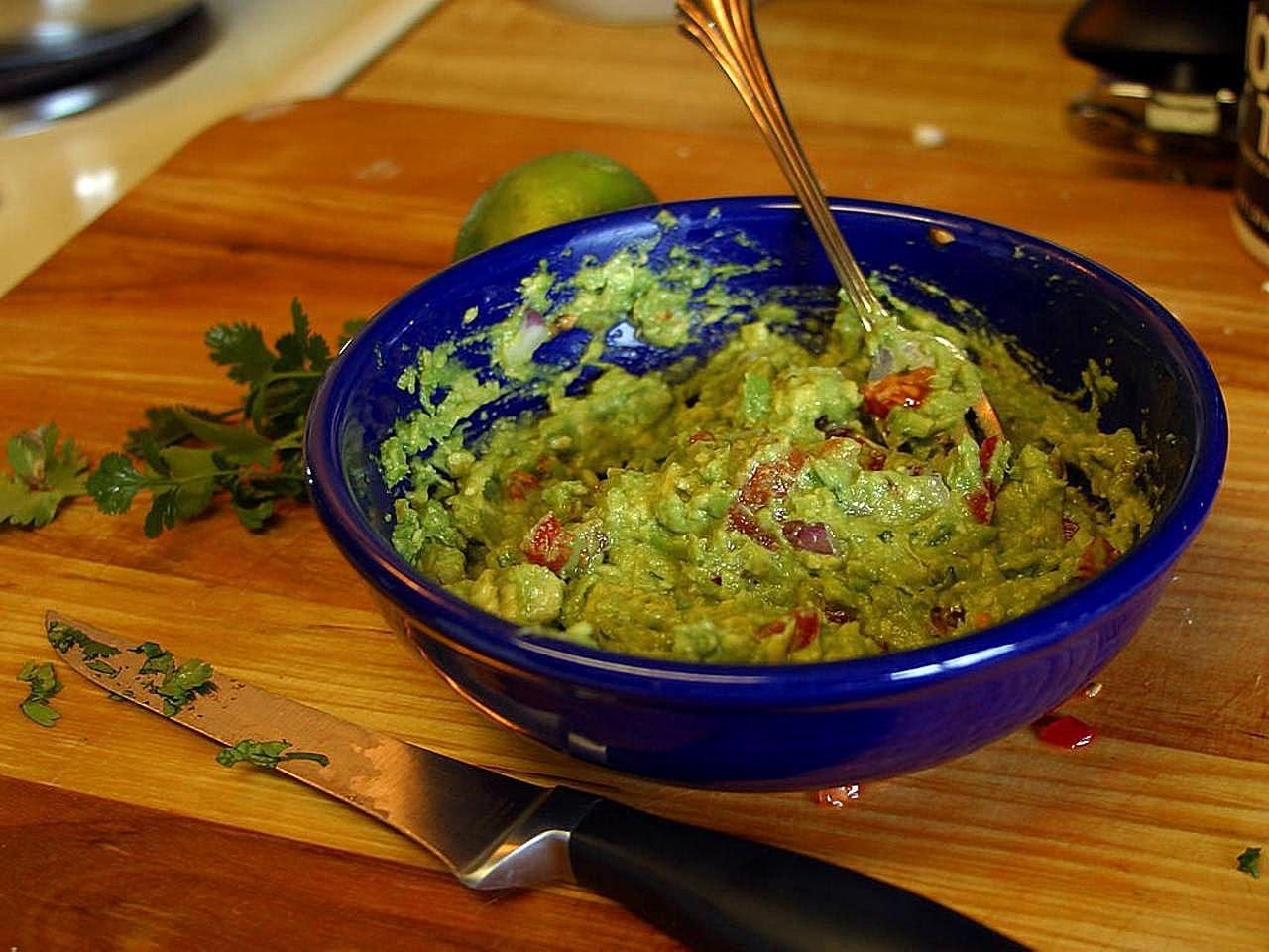 Bild Guacamole Zubereitung