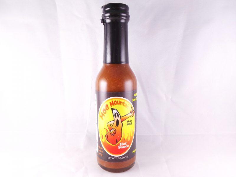 Bild Moe Mountain Hot Sauce Flasche