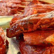 Bild scharf mariniertes Fleisch