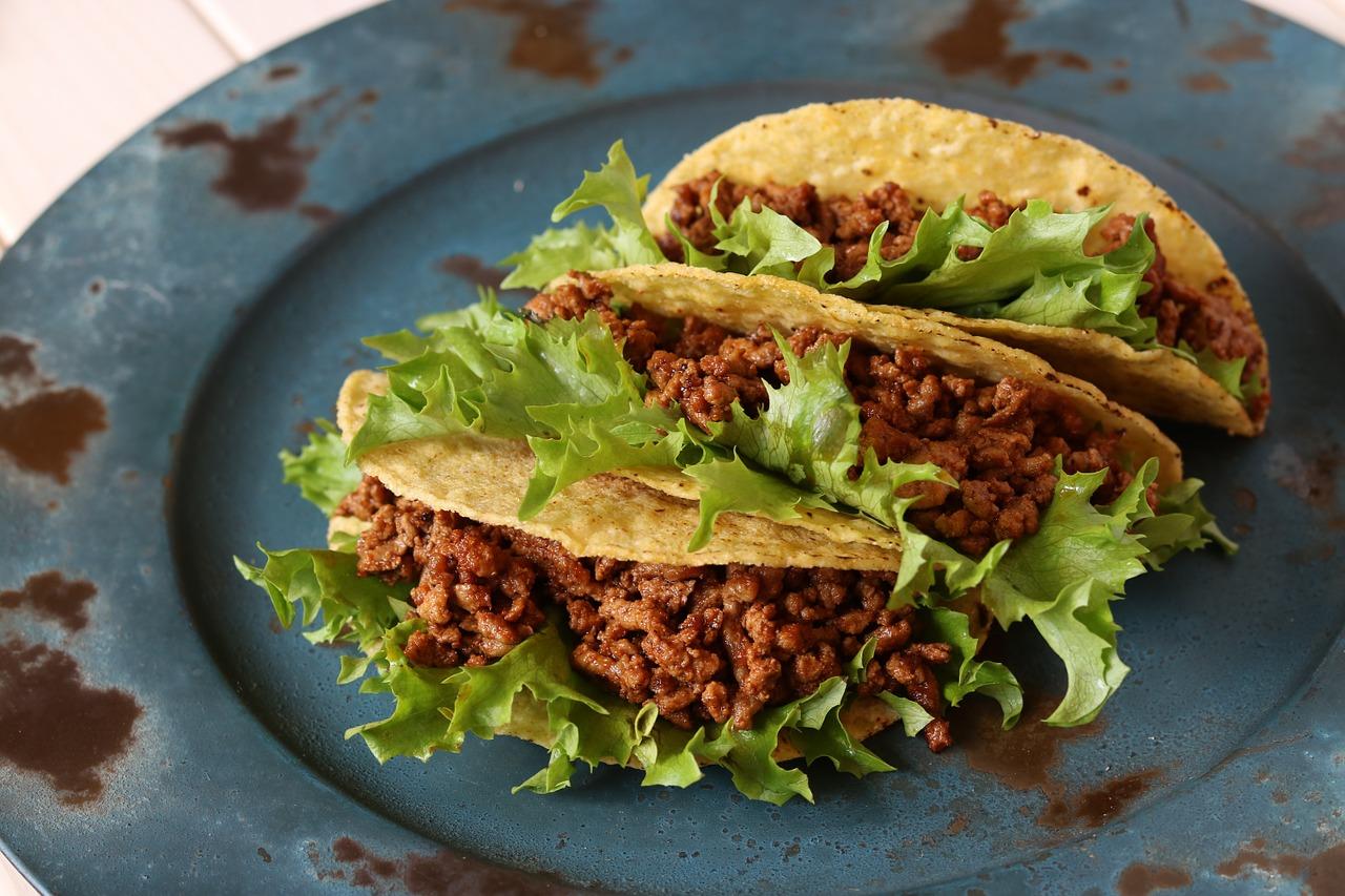 Bild Taco mit Rindfleisch