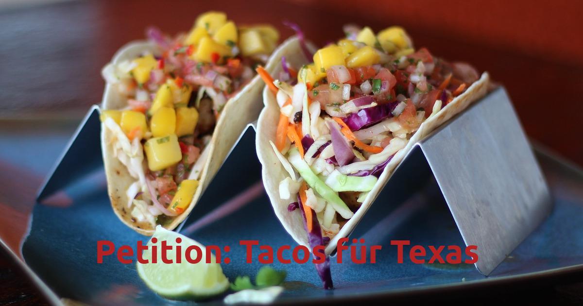 Bild Tacos für Texas