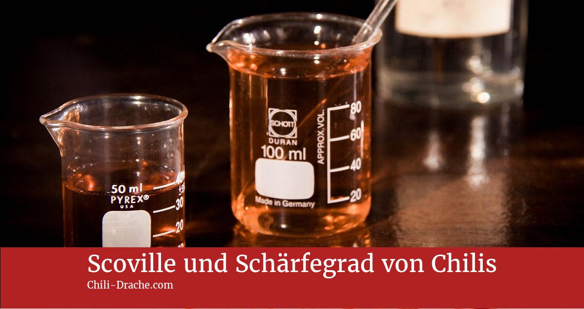 Bild Scoville und Schärfegrad messen